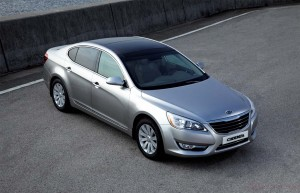 Dubbed Kia Cadenza for most of the world, expect to see this sedan show up as the 2011 Kia Amanti replacement.