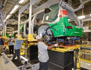 Eventually, Kia hopes to employ 2,500 workers at its new assembly plant in West Point, Georgia.