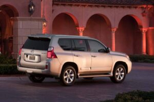 The 2010 Lexus GX460 officially goes on sale next month.