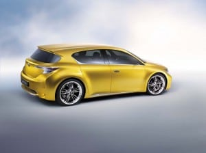 Lexus is likely to launch a small car, perhaps by 2012, reflecting the emerging market for downsized - but well-equipped - luxury vehicles. A possible design, the LF-Ch, is shown here.