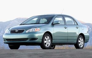 NHTSA is investigating potential stalling problems involving the 2006 Toyota Corolla (shown here) and Matrix models.