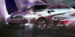 This digital rendering hints at the Premium Compact Sedan that will be coming soon to the Buick line-up.