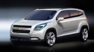 The Chevrolet Orlando, shown here in concept form, is deceptive. Despite its small footprint it will offer three-row seating for up to seven.