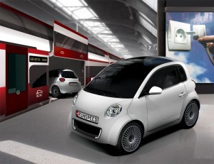 "The Rinspeed UC? isn't just a commuter car, the company asserts, but an entire ""mobility concept."""