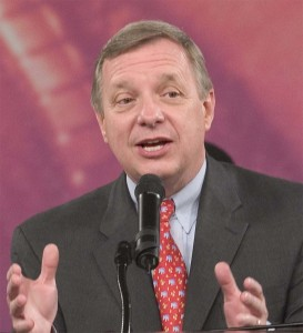 Asst. Senate Majority Leader Dick Durbin has helped craft a compromise that could give a reprieve to some of the thousands of dealersv GM and Chrysler want to cut.