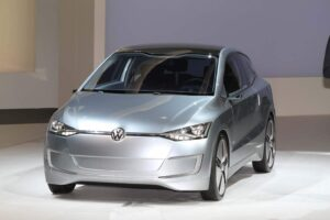 The 2010 Volkswagen Up! Lite concept vehicle would be, at 70 mpg, the world's most fuel-efficient 4-seater.