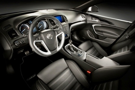 first look: 2011 buick gran sport buick regal gs show car interior