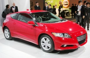 The Honda CR-Z - hurt by a strong dollar and the end of Japanese green car incentives.