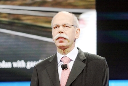 Daimler's Zetsche Gets New Contract – And Pay Cut