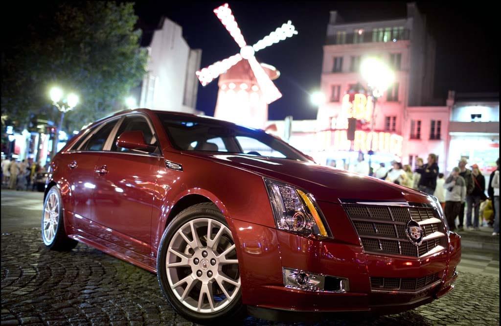 Cadillac Cts Sport Wagon on Cadillac Cts Sedan