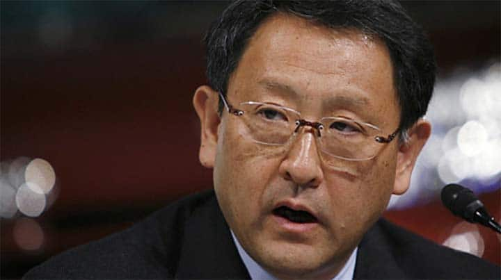 Toyota Takes Hit as Debt Downgraded