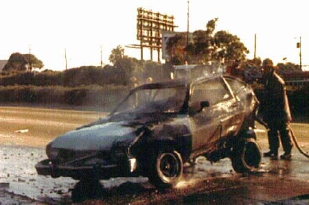 ford pinto fires The ford pinto case  the scandal and the  that would have forced the company to change the pinto's fire  ford knows that the pinto is a .