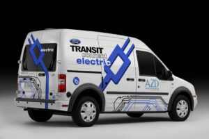 The first 29 of the battery vans will be shipped off for fleet testing by the end of this year.