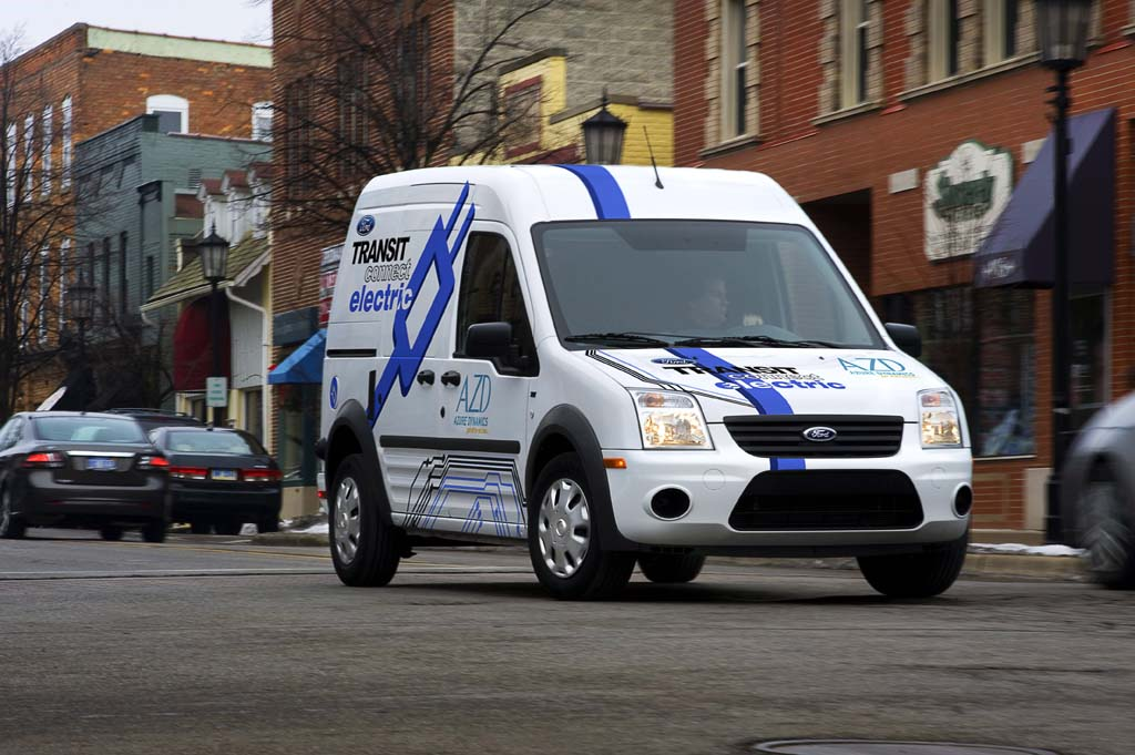 Orders Roll in for Ford Transit Connect Electric