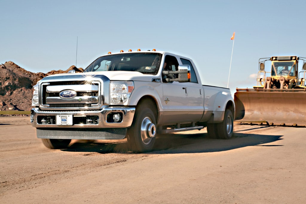 First Drive: 2011 Ford F-Series Super Duty ...