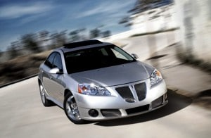 GM recalled 1.3 million vehicles today, including the 2009 Pontiac G6, for power steering issues.