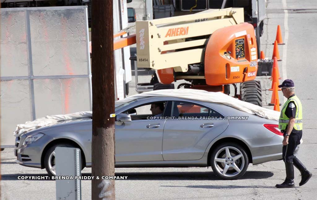 Spy Shot: 2012 Mercedes-Benz CLS