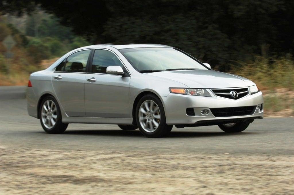 Honda Recalls Acura TSX Models For Fires