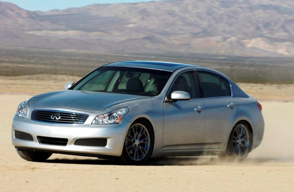 Nissan Recalling G35 Infinitis for Airbag Failures ... on
