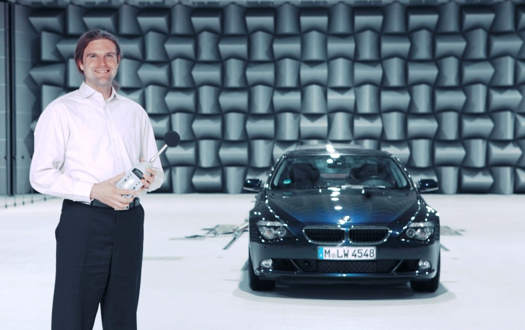 BMW Diesel Shows Electronic Noise Cancellation