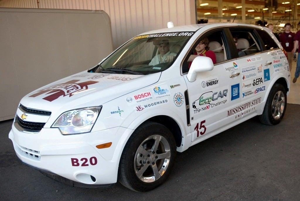 Mississippi State University EV Wins 2010 EcoCAR