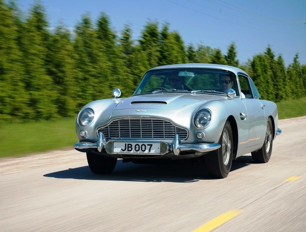 James Bond S Aston Martin Db5 For Sale The Detroit Bureau