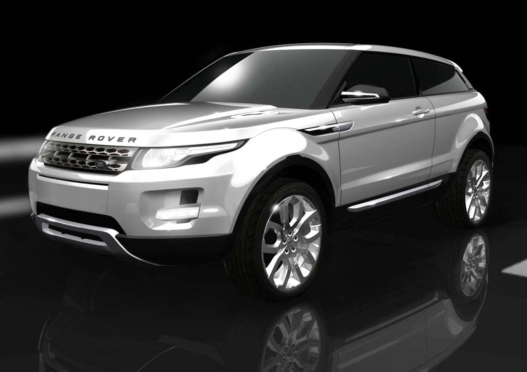 Land Rover to Reveal Production LRX Crossover