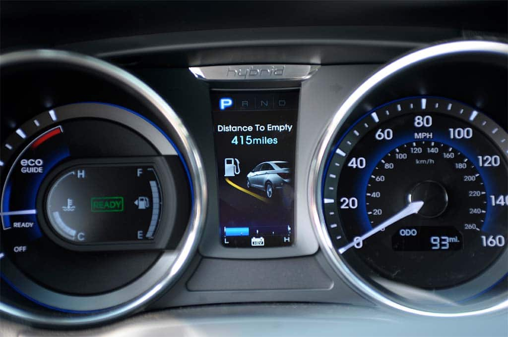 Amazing The Gauge Cluster On The 2011 Hyundai Sonata ...