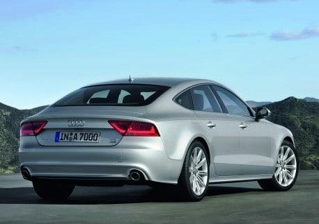 First Look Audi A7 5 Door Hatchback Thedetroitbureau Com