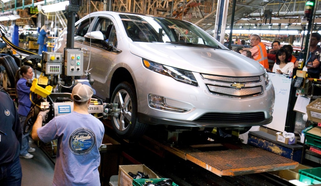 After Slow Start, GM Ramping Up Volt Production