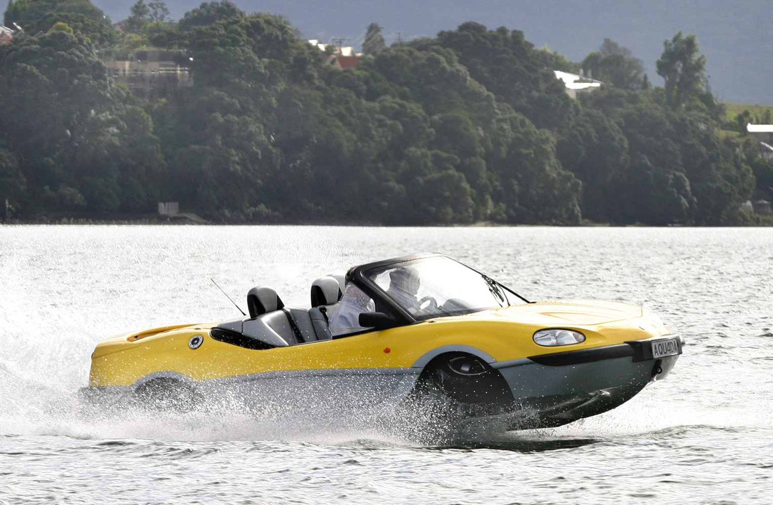 With Car Boat Stalled Gibbs To Launch Amphibious Atv