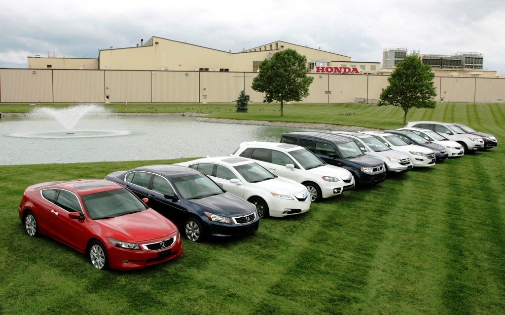 Milestones Marysville Plant Produces 10 Millionth Honda