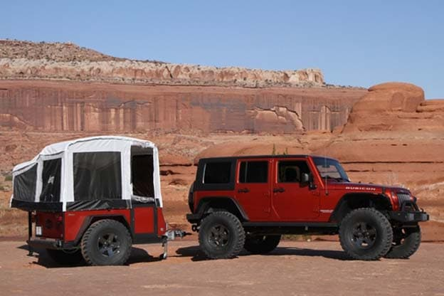 Mopar Claims The Jeep Wrangler Camper