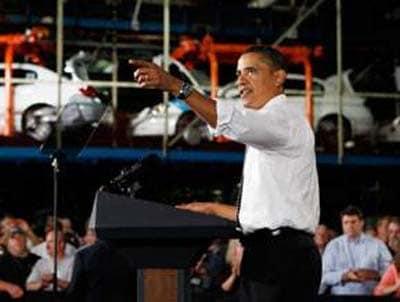 Opinion: Obama Deserves Cheers As He Tours Detroit Auto Plants
