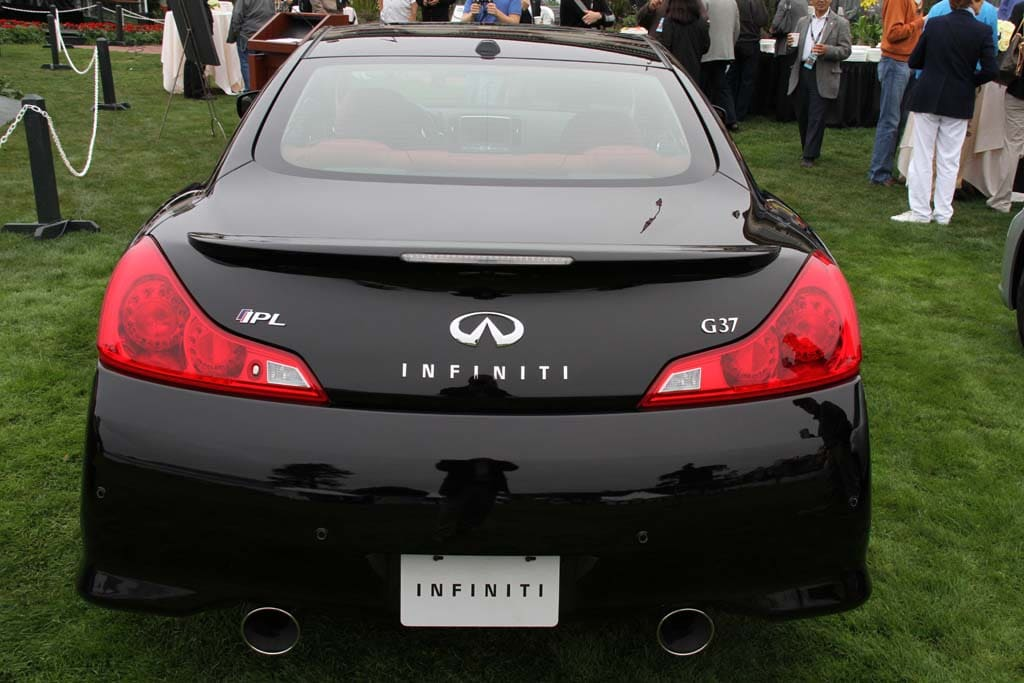 2011 Infiniti Ipl G Coupe Rear 2011 Infiniti Ipl G Coupe Rear