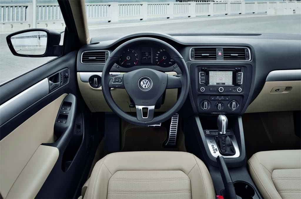 Vw Jetta 2011 Interior. The overall interior is