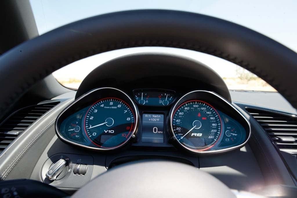 First Drive 2011 Audi R8 V10 Spyder 2012 Audi R8 Spyder Instrument Cluster Thedetroitbureau Com