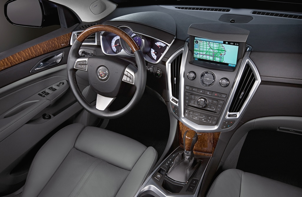 Review: Cadillac Gets Shape of New SRX Right 2010 Cadillac ...