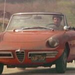 "Dustin Hoffman drove an Alfa Spider in the 1967 hit, ""The Graduate."""
