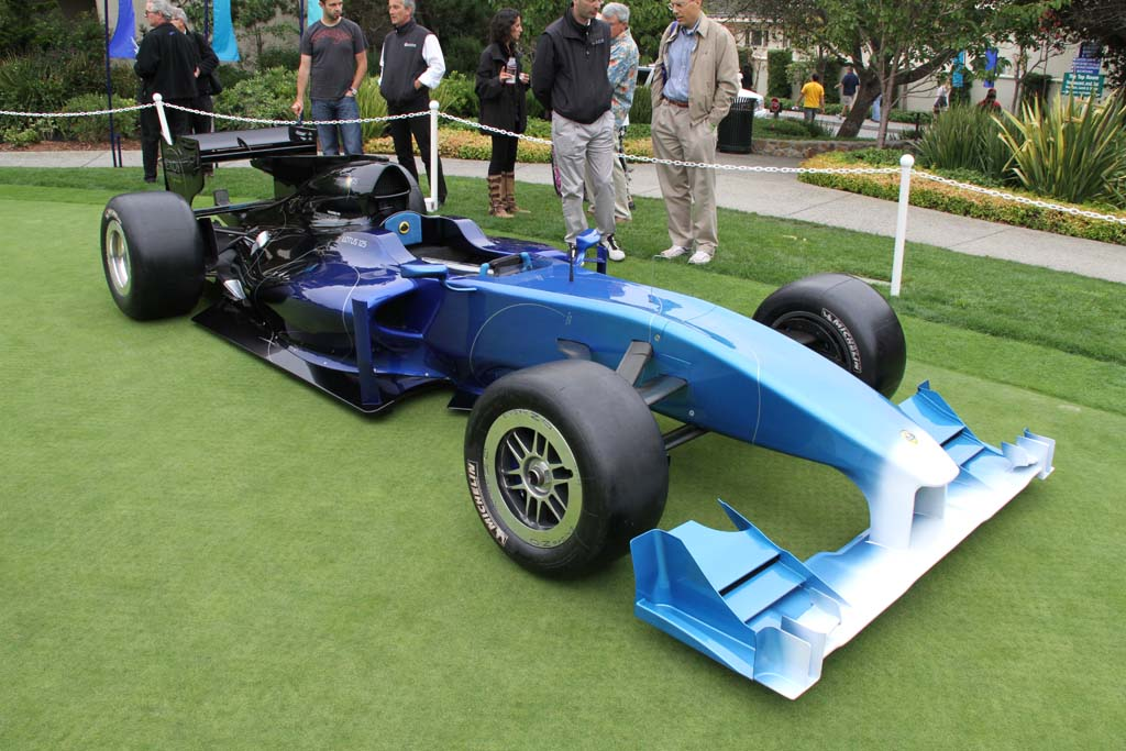 Your Own Lotus Formula One Car? Lotus 125 front 3-4 ...