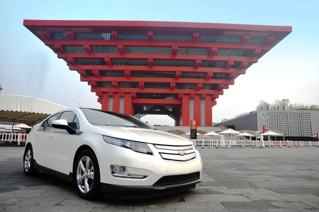 Chevrolet Volt Debuts in Shanghai