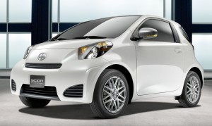 Indefinitely delayed: the new Scion iQ microcar.