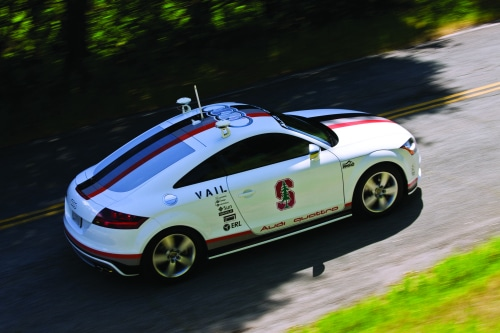 Driverless Audi Results in Four Pikes Peak Injuries