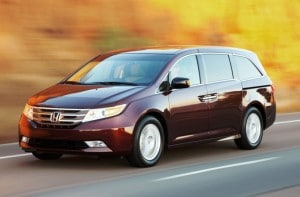 The 2011 Honda Odyssey was one of nine models to experience no fatalities during the study period.