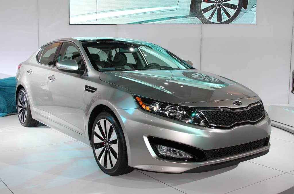 Wonderful The 2011 Kia Optima Makes Its Debut At The New York International Auto Show.