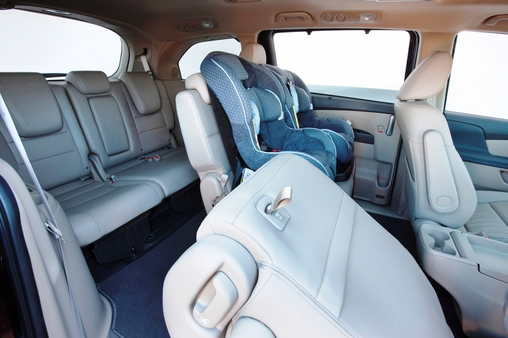 Charming No Other Minivan Interior Comes Close For Packaging.