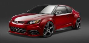 The Five Axis tC underscores the wide range of customization possible with the new Scion coupe.