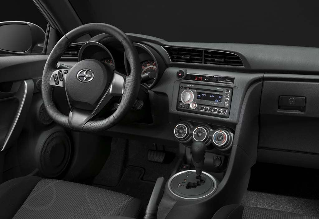 The new tC's interior is a bit larger and better finished – with the