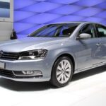 The new European version VW Passat taking its bow at the Paris Motor Show, last September.