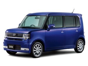 A minicar for Toyota, which will rebadge the Daihatsu Move Conte as one of its own models.